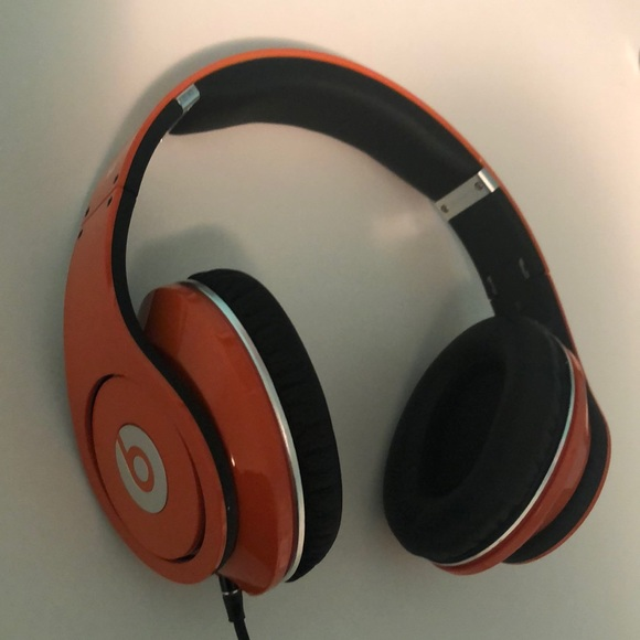 Beats By Dr Dre Other Beats Studio Wired Headphones Orange Poshmark